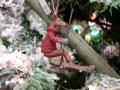 Critter Tree - skiing reindeer